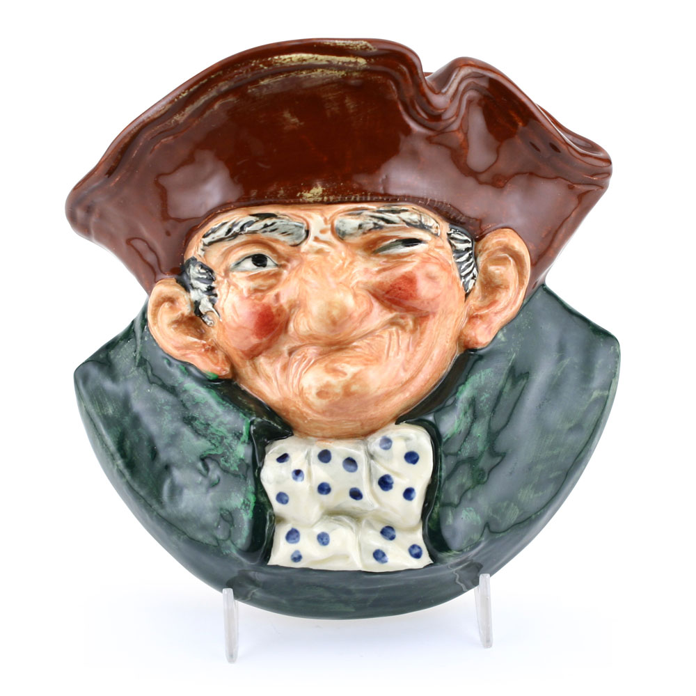 Old Charley Wall Pocket D6110 - Wall Pocket - Royal Doulton