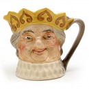 Old King Cole - Musical Jug (Yellow Crown) - Royal Doulton