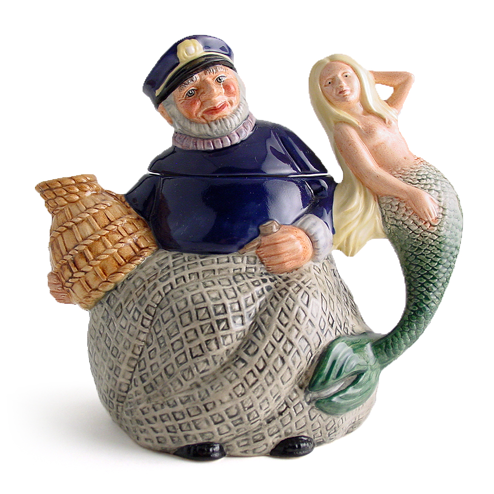 Old Salt D6818 - Teapot - Royal Doulton