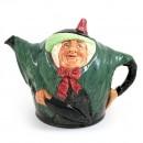 Sairey Gamp D6015 - Teapot - Royal Doulton