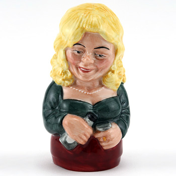 Betty Bitters D7190 - Candle Snuffer - Royal Doulton