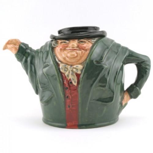 Tony Weller D6016 - Teapot - Royal Doulton