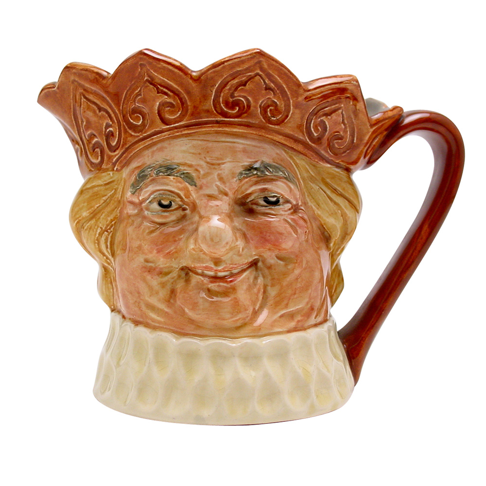 Old King Cole Musical Jug (Brown Crown) - Musical Jug - Royal Doulton