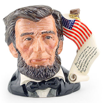 Abraham Lincoln D6936 - Large - Royal Doulton Character Jug