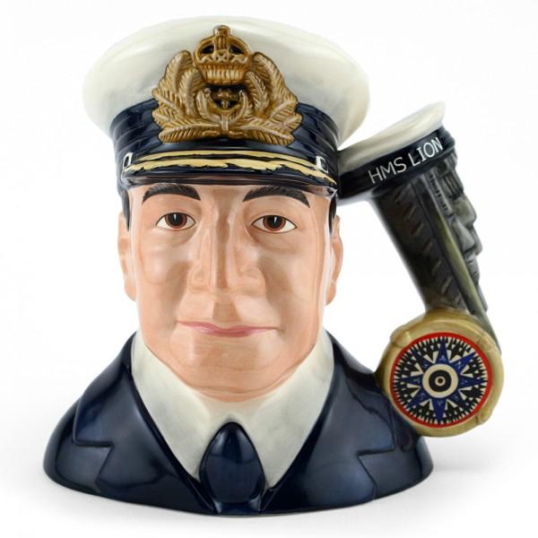 Admiral Beatty D7226 - Large - Royal Doulton Character Jug