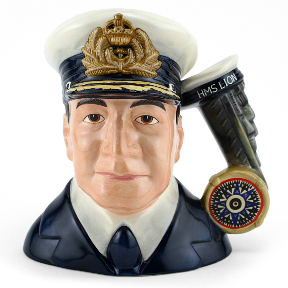 Admiral Beatty D7226 - Large - Royal Doulton Character Jug