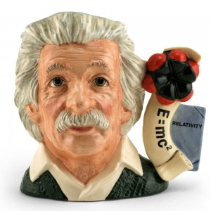 Albert Einstein D7023 - Large - Royal Doulton Character Jug
