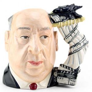 Alfred Hitchcock D6987 - Large - Royal Doulton Character Jug