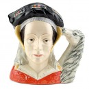 Anne of Cleves D6653 (Ears Down) - Large - Royal Doulton Character Jug