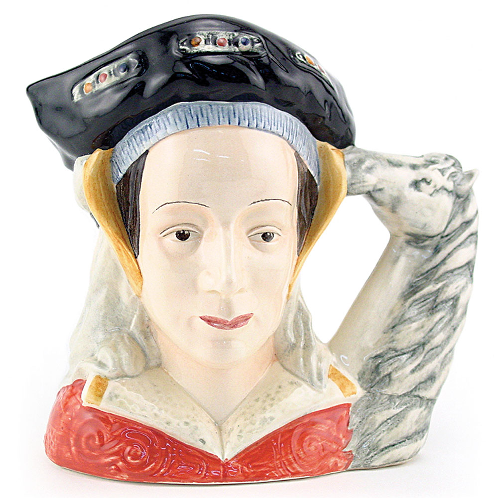 Anne of Cleves (Ears Up) D6653 - Large - Royal Doulton Character Jug