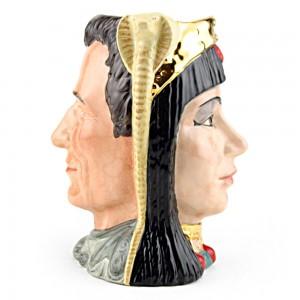 Antony and Cleopatra D6728 - Large - Royal Doulton Character Jug