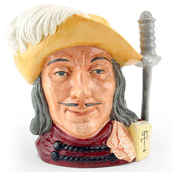 Aramis D6829 (Colorway) - Large - Royal Doulton Character Jug