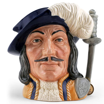 Athos D6827 (Colorway) - Large - Royal Doulton Character Jug