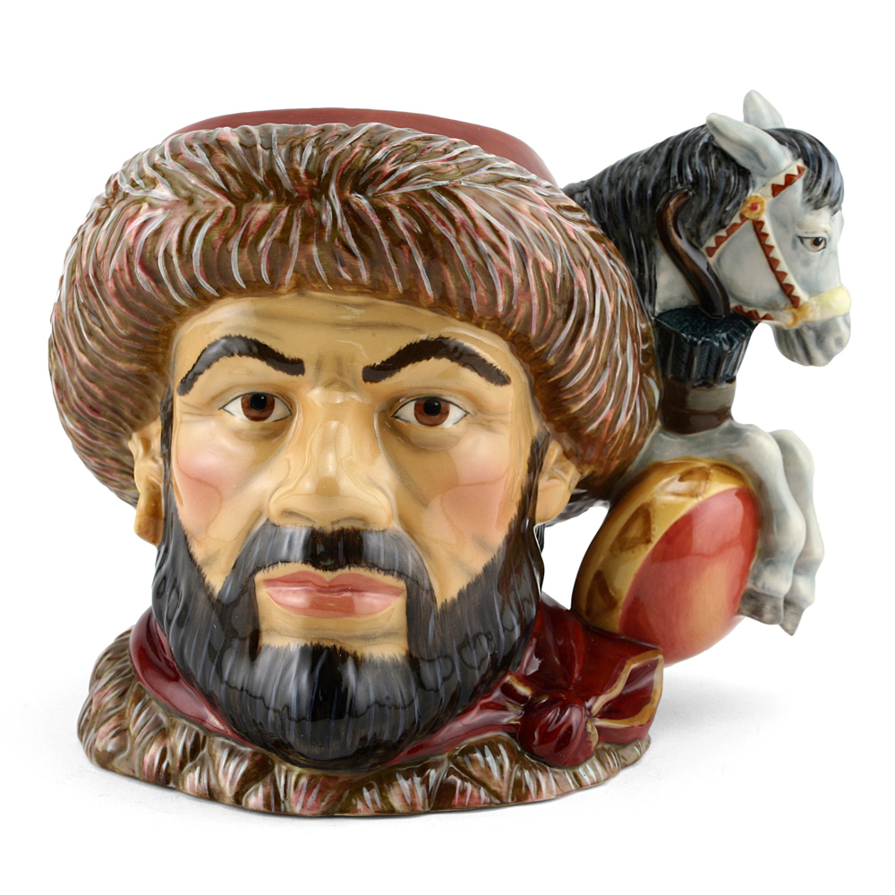 Attila The Hun D7225 - Large - Royal Doulton Character Jug