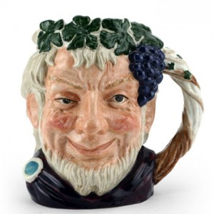 Bacchus D6499 (Bone China) - Large - Royal Doulton Character Jug