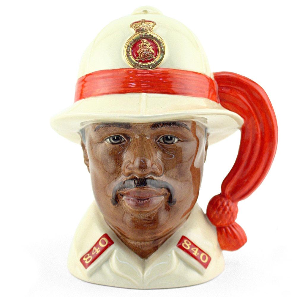 Bahamas Policeman D6912 - Large - Royal Doulton Character Jug