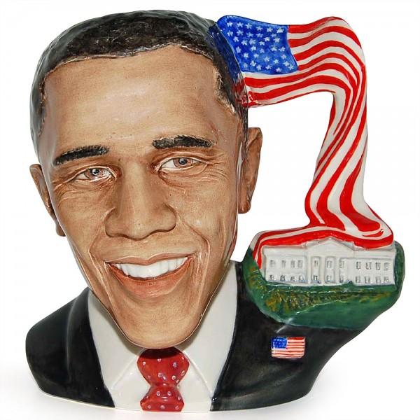 Barack Obama - Large - Royal Doulton Character Jug