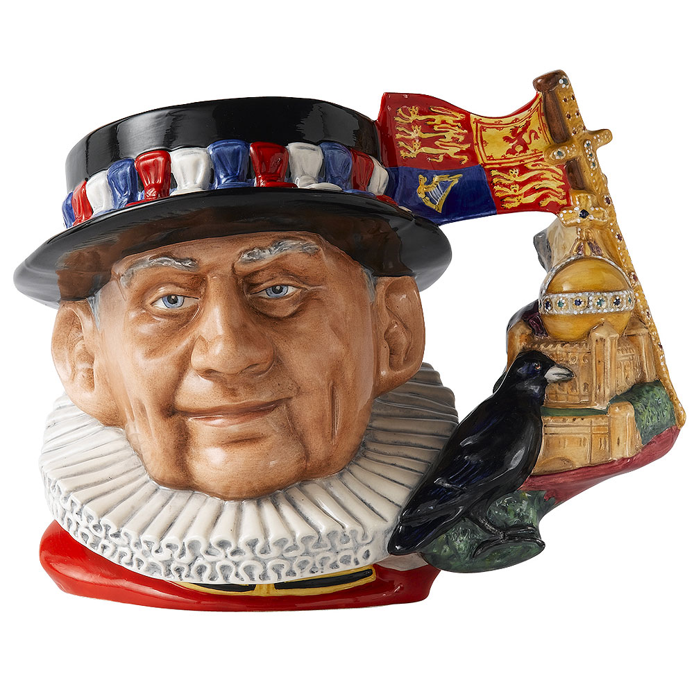 Beefeater D7299 - 2010 Jug of the Year - Royal Doulton Character Jug