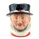 Beefeater ER D6206 Scarlet - Large - Royal Doulton Character Jug