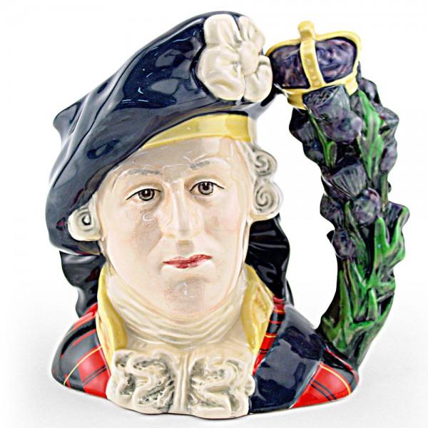 Bonnie Prince Charlie D6858 - Large - Royal Doulton Character Jug