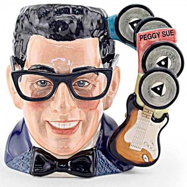 Buddy Holly D7100 - Large - Royal Doulton Character Jug