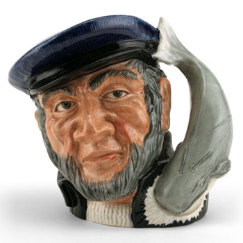 Capt Ahab D6500 (Bone China) - Large - Royal Doulton Character Jug