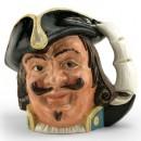 Capt Henry Morgan D6467 (Bone China) - Large - Royal Doulton Character Jug