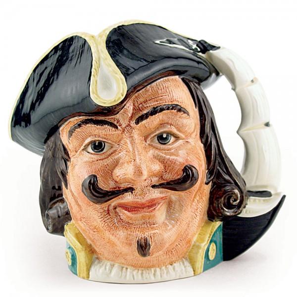 Capt Henry Morgan D6467 - Large - Royal Doulton Character Jug