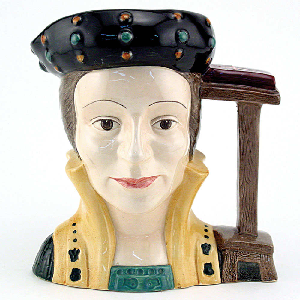 Catherine Parr D6664 - Large - Royal Doulton Character Jug