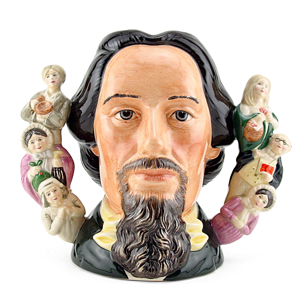 Charles Dickens D6939 (Double Handle) - Large - Royal Doulton Character Jug
