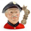 Chelsea Pensioner D6817 - Large - Royal Doulton Character Jug