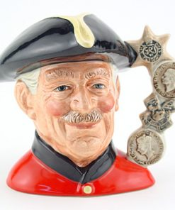 Chelsea Pensioner D6830 (Hornes backstamp) - Large - Royal Doulton Character Jug