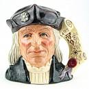 Christopher Columbus D6891 - Large - Royal Doulton Character Jug