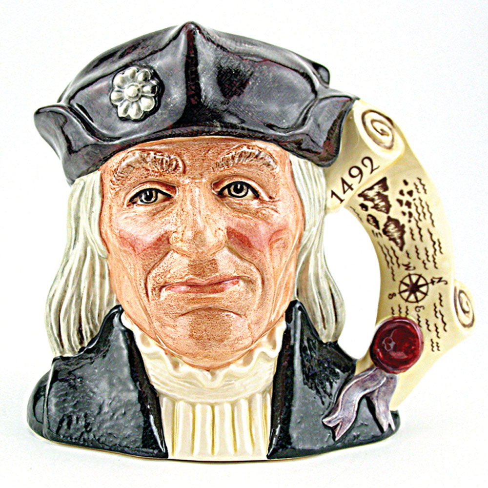 Christopher Columbus D6891 - Large - Royal Doulton Character Jug