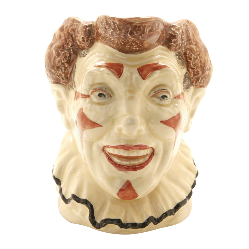 Clown Brown Hair D5610 - Large - Royal Doulton Character Jug
