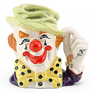 Clown D6834 - Large - Royal Doulton Character Jug