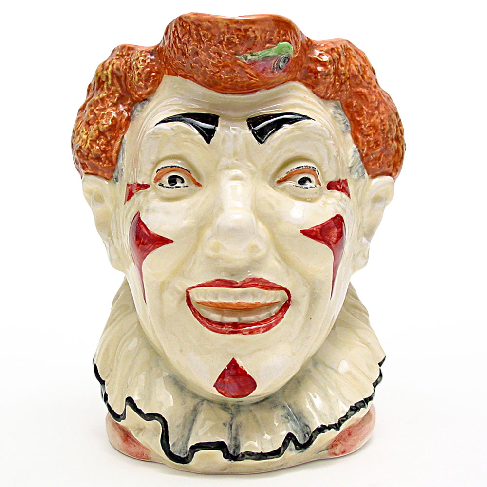 Clown D5610 (Red Hair) - Large - Royal Doulton Character Jug