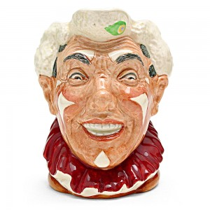 Clown White Hair D6322 - Large - Royal Doulton Character Jug