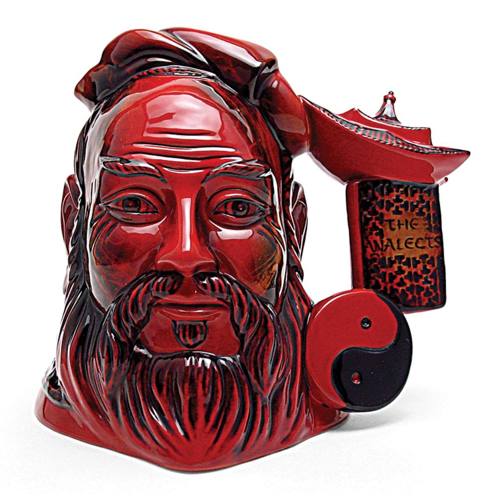 Confucius Flambe D7003 - Large - Royal Doulton Character Jug