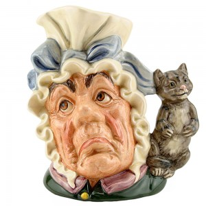 Cook and Cheshire Cat D6842 - Large - Royal Doulton Character Jug