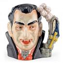 Count Dracula D7053 - Large - Royal Doulton Character Jug