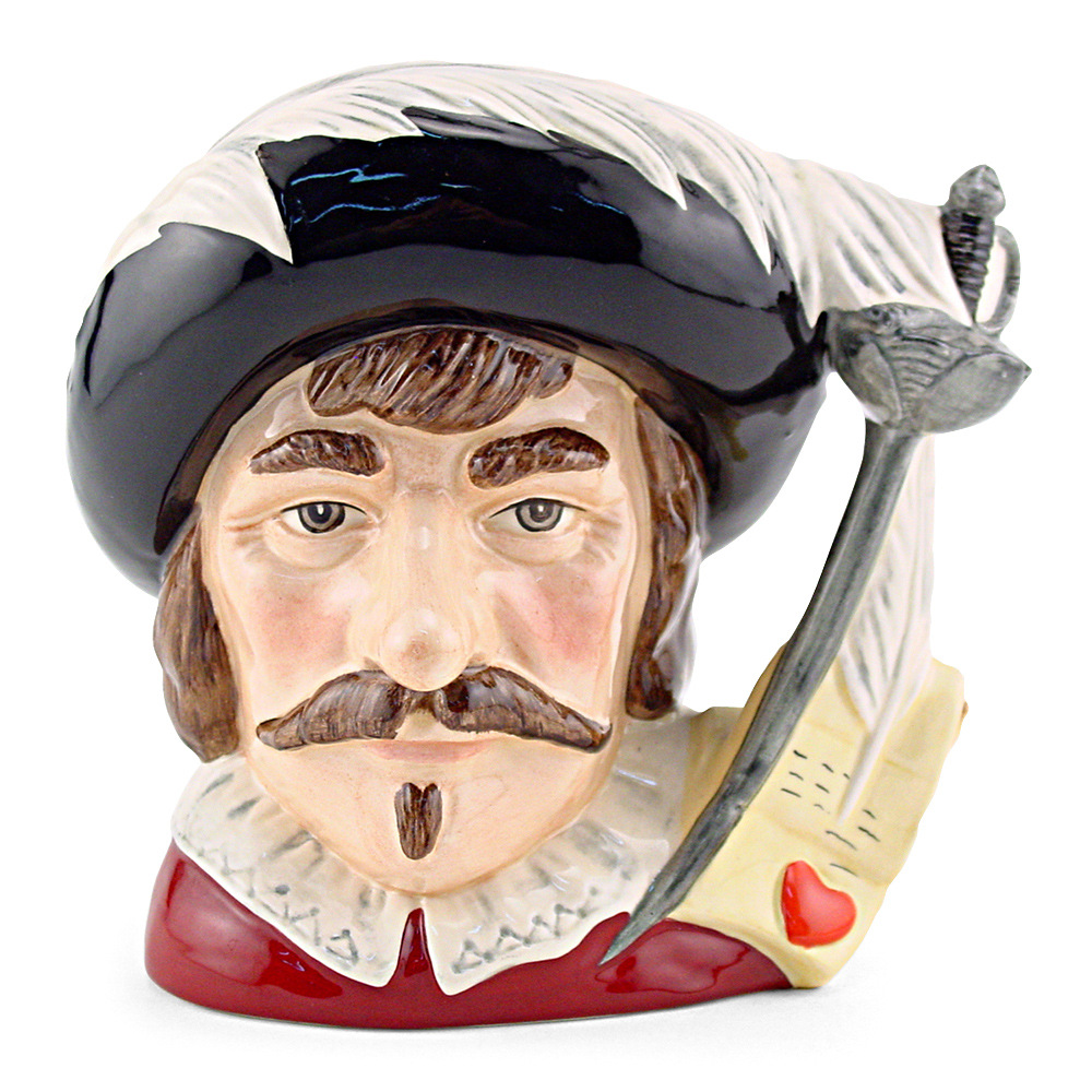 Cyrano De Bergerac D7004 - Large - Royal Doulton Character Jug