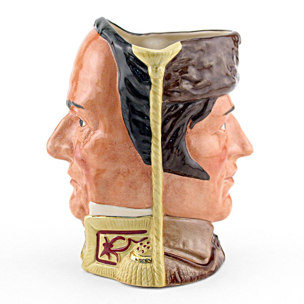 Davy Crockett Santa Anna D6729 - Large - Royal Doulton Character Jug