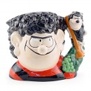 Dennis and Gnasher D7005 - Large - Royal Doulton Character Jug