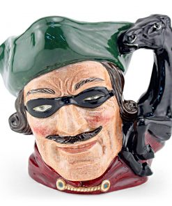 Dick Turpin Horse Handle D6528 - Large - Royal Doulton Character Jug