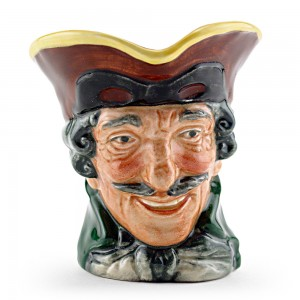 Dick Turpin Pistol Handle D5485 - Large - Royal Doulton Character Jug
