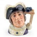 Dick Whittington Lord Myr D6846 - Large - Royal Doulton Character Jug