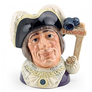 Dick Whittington Lord Myr D6846 - Large - Royal Doulton Character Jug