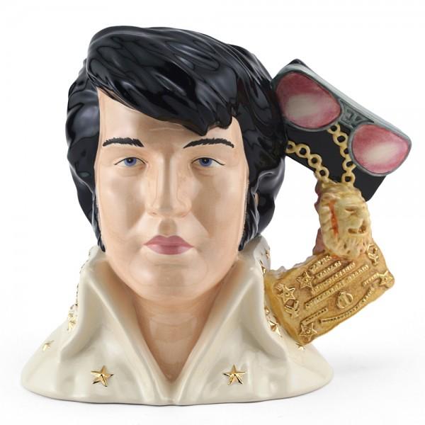 Elvis Presley EP6 (Vegas) – Large – Royal Doulton Character Jug 1