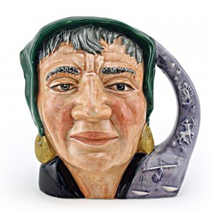 Fortune Teller Old D6497 - Large - Royal Doulton Character Jug